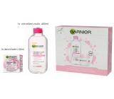 Garnier Botanical Cream s ružovou vodou krém pre suchú a citlivú pleť 50 ml + micelárna voda 3v1 pre citlivú pleť 400 ml, kozmetická sada