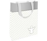 Nekupto Darčeková papierová taška 11 x 17,5 x 8 cm Anjel pre šťastie 002 IE