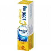 Revital Vitamín C Citrón doplnok stravy pre normálnu funkciu imunitného systému 1000 mg 20 šumivých tabliet