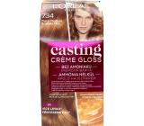 Loreal Paris Casting Creme Gloss krémová farba na vlasy 734 Zlatá medová