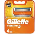 Gillette Fusion náhradné hlavice 4 kusy