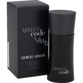 Giorgio Armani Code Men toaletní voda 75 ml