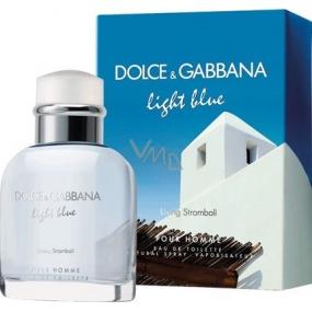 Dolce & Gabbana Light Blue Living Stromboli toaletní voda pro muže 125 ml