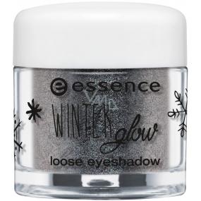 Essence Winter Glow očné tiene 02 Stonecold 1,5 g