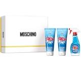 Moschino Fresh Couture toaletná voda pre ženy 50 ml + sprchový gél 100 ml + telové mlieko 100 ml, darčeková sada