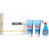 Moschino Fresh Couture toaletní voda pro ženy 50 ml + sprchový gel 100 ml + tělové mléko 100 ml, dárková sada