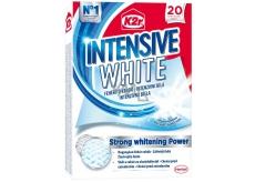 K2r Intensive White unikátny bieliace obrúsky pôsobí proti zošednutie bielizne a navráti mu žiarivú bielu farbu 20 obrúskov