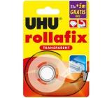 Uhu Rollafix Transparent číra lepiaca páska 30 x 19 mm