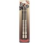 Nekupto Hobby drevené ceruzky Vášnivý motorkár 2 kusy