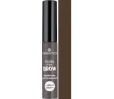 Essence Make Me Brow Eyebrow gélová riasenka na obočie 04 Ashy Browse 3,8 ml