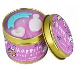 Bomb Cosmetics Šťastie aj potom - Happily Ever After Vonná prírodné, ručne vyrobená sviečka v plechovej dóze horí až 35 hodín