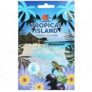 Marion Tropický ostrov Phuket Paradise textilné pleťová maska antioxidačné 1 kus