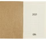 Albi Kalendárium 2021 náplň do luxusného diára