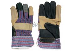 Spokar Hovädzie kože rukavice pracovné 1 pár