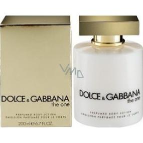 Dolce & Gabbana The One Female telové mlieko 200 ml