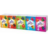 Linteo Kids mini papierové vreckovky 3 vrstvové 10 x 10 kusov