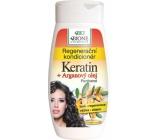 Bion Cosmetics Keratín & Arganový olej regeneračný kondicionér 260 ml