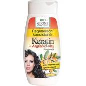 Bione Cosmetics Keratin & Arganový olej regenerační kondicionér 260 ml