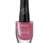Astor Quick & Shine Nail Polish lak na nechty 204 Life In Pink 8 ml