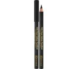 Dermacol 12h True Colour Eyeliner dřevěná tužka na oči 08 Black 2 g