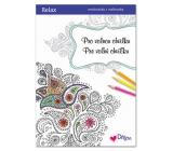Ditipo Relax Pro volnou chvilku relaxační omalovánky s citáty 16 stran