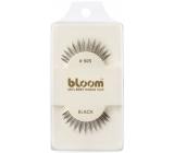 Bloom Natural nalepovací řasy z přírodních vlasů obloučkové černé č. 505 1 pár