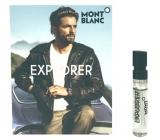 Montblanc Explorer toaletná voda pre mužov 2 ml s rozprašovačom, vialky