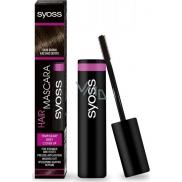 Syoss Hair Mascara řasenka pro okamžité zakrytí odrostů Dark Brown - tmavě hnědá 16 ml