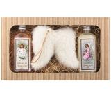 Bohemia Gifts & Cosmetics Vianoce sprchový gél 2 x 200 ml + Anjelské krídla, kozmetická sada