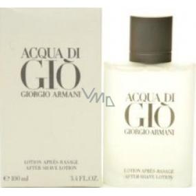 Giorgio Armani Acqua di Gio pour Homme voda po holení 100 ml