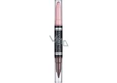 Rimmel London Magnif Eyes oční stíny a kajalová tužka 2v1 005 Pink & Purple Rain 1,6 g