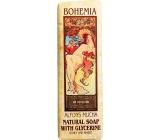 Bohemia Alfons Mucha Art Nouveau Med a obilí toaletní mýdlo 125 g