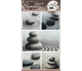 Samolepky na stenu kamene v piesku 50x32cm