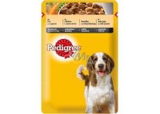 Pedigree Adult s kuřecím masem a zeleninou ve šťávě kapsička 100 g