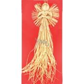Anděl střapatý na zavěšení 60 cm