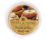 Heart & Home Pečené jablko Sójový prírodný voňavý vosk 27 g