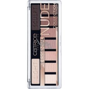 Catrice The Essential Nude Eyeshadow Palette paleta očných tieňov 010 Renude My Style 10 g