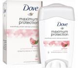 Dove Maximum Protection Granátové jablko a citronová verbena antiperspirant deodorant stick pro ženy 45 ml