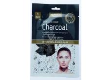 Beauty Formulas Charcoal Detox Aktívne čierne uhlie bublinková pleťová maska
