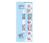 Albi Me to You Lepiaca papieriky č. 1 Kvety, 7 x 20 štítkov, 5 x 12 cm