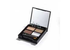 Makeup Revolution Focus & Fix Brow Kit sada na úpravu obočia Light Medium 5,8 g