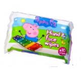 Jelly Works Peppa Pig - Prasiatko Pepa vlhčené obrúsky 10 kusov