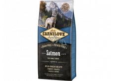 Carnilove Adult Salmon superprémiové kompletné krmivo pre dospelých psov všetkých plemien 12 kg