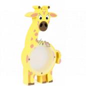 Albi Pokladnička drevená zvieratko Žirafa 22 x 5 x max 22 cm