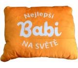 Albi Vankúš Najlepšia babi 45 x 35 cm