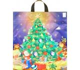 Press Igelitová taška 47 x 41 cm s uchom vianočný stromček 1 kus