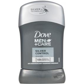Dove Men + Care Silver Control 48h antiperspirant dezodorant stick pre mužov 50 ml