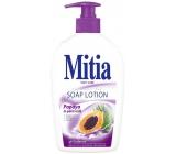 Mitia Papaya in Palm Milk krémové tekuté mýdlo dávkovač 500 ml