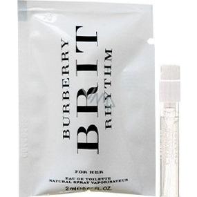 Burberry Brit Rhythm for Her toaletná voda 2 ml s rozprašovačom, vialka