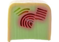 Bomb Cosmetics Rebarborová duha Přírodní glycerinové mýdlo 100 g